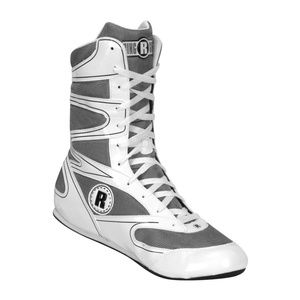 RINGSIDE BRAND NEW WHITE UNDEFEATED BOXING SHOES